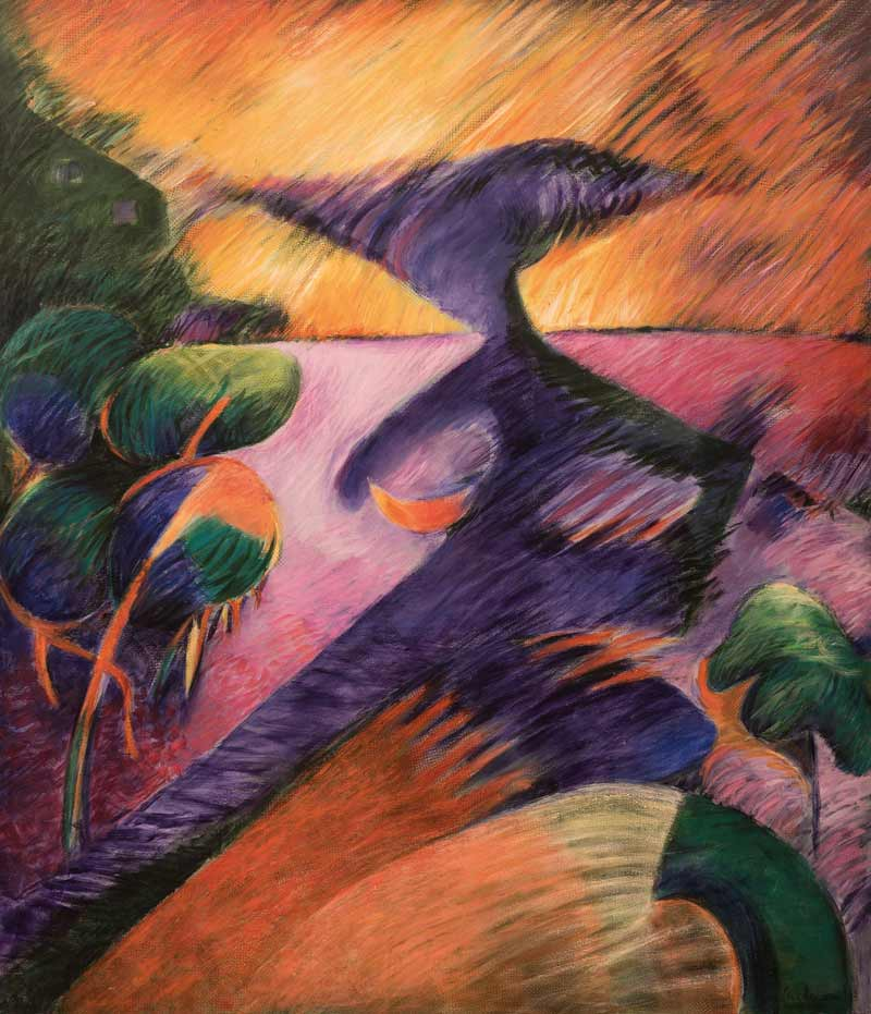 Diosa De Las Aguas, 1994, Acrílico, 60x50