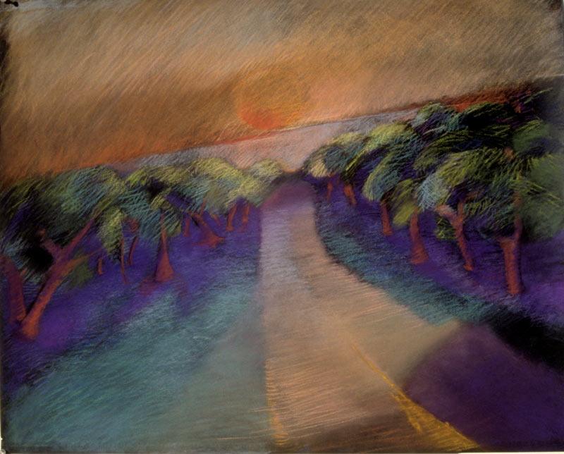 Camino Real, Serigrafia, 27x33