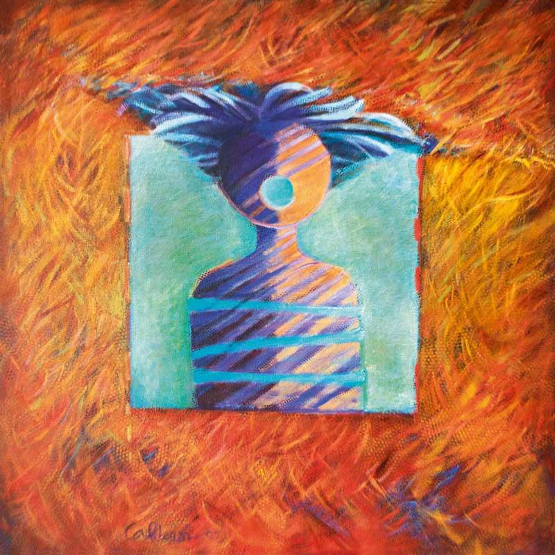 Entre Sombra y Luz, 1998, 40x40