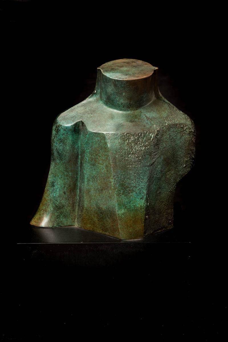 Tronco, 2010, Escultura Bronce