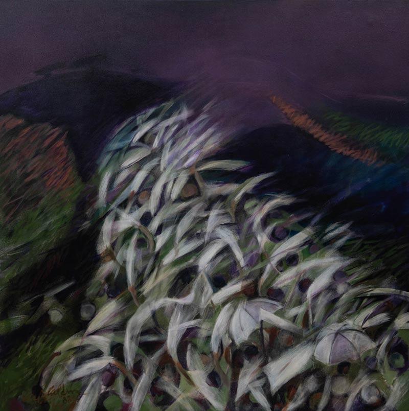 La Gran Rebelión Blanca, 1988, Acrílico, 44X44