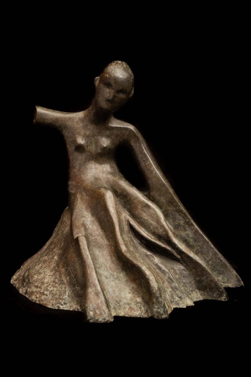Mujer Árbol, Bronce, 2010, 12x11