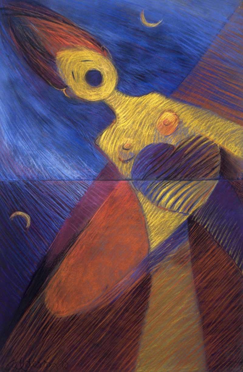 Disparada 1997 Pastel, 38x25