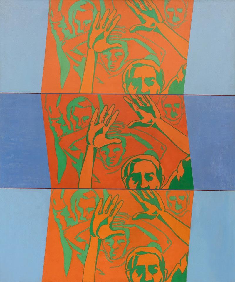Hermandad, 1967, Acrílico, 60x50
