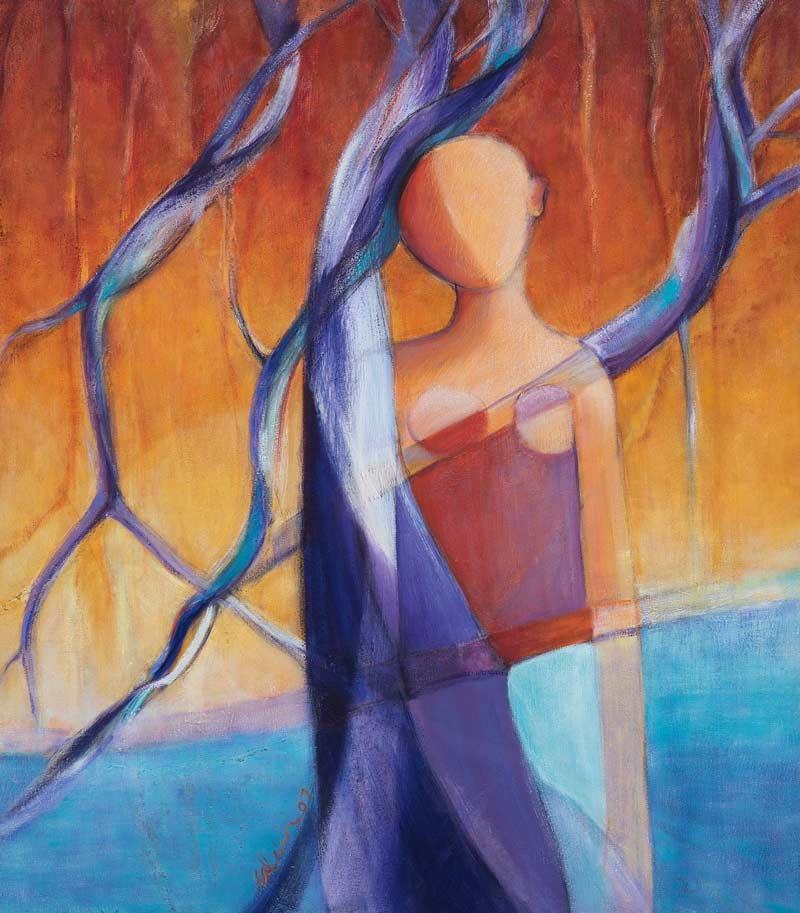 Venus De las Lianas y Manglares II, 2006 Acrílico