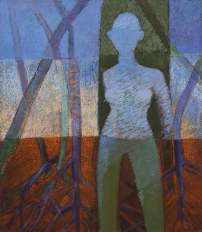 Arbol De Vida, 2005, Óleo, 40x40