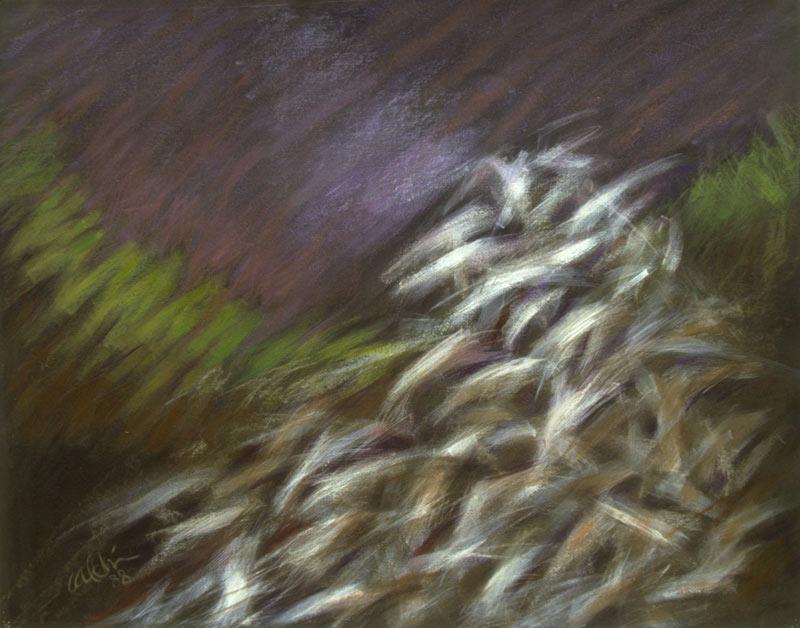Detalle De Triptico, 1988, Oleo Sobre Cartón
