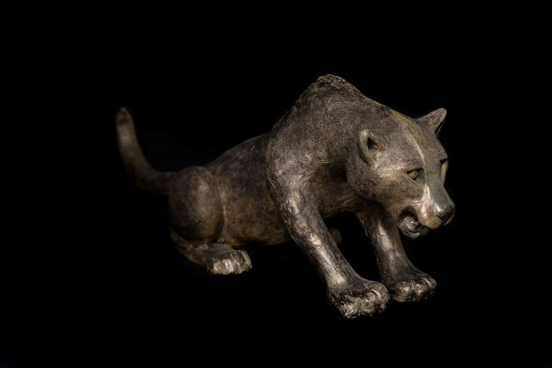 El Jaguar 2015 Escultura En Bronce