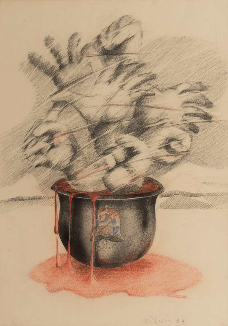 Impotencia, 1984, Dibujo