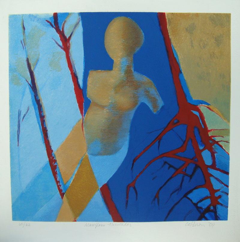 Manglares Truncados, 2009, Serigrafia, 27x20